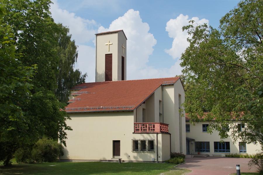 Regensburg | St. Matthäus | Außenbau | Foto: Johanning, CC BY SA 4.0