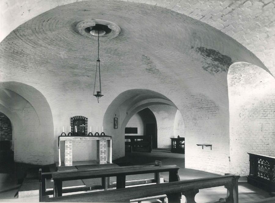 Wesel | Zu den Heiligen Engeln | Bild: LVR-Amt für Denkmalpflege, Foto: Martha Kranz, 1960