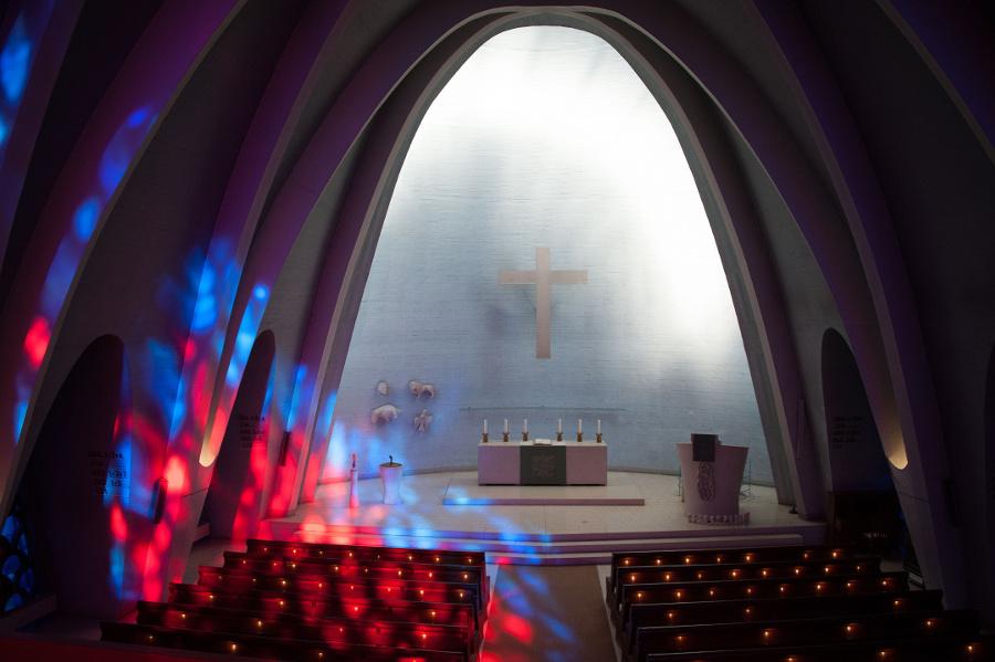 Wiesbaden | Heilig-Geist-Kirche | Innenraum | Foto: Hubert Kahabka