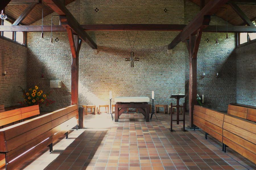 Am Mellensee | Kloster Alexanderdorf | St. Gertrud | Innenraum | Foto: Abtei St. Gertrud, Kloster Alexanderdorf