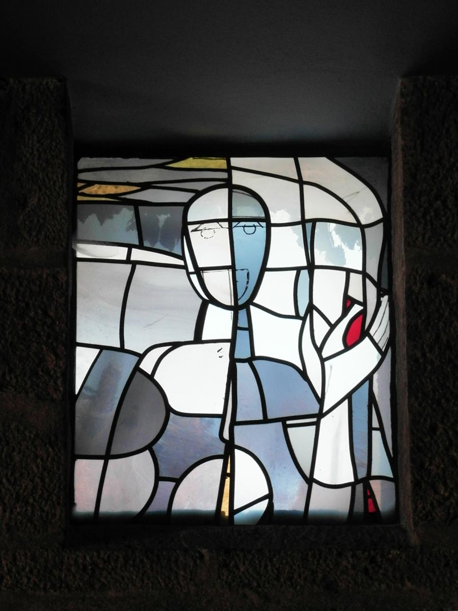 Ebermannstadt | Burg Feuerstein | Verklärung Christi | Glasgestaltung | Foto: Daniel Greb