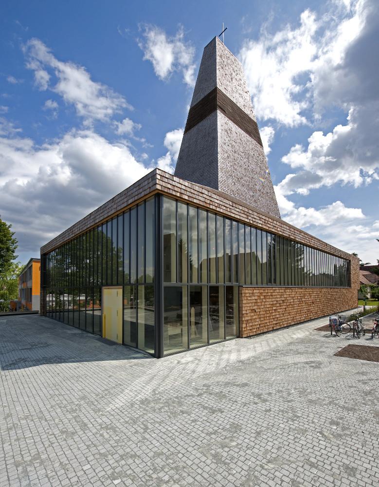 Herzogenaurach | Evangelische Kirche | Außenbau | Foto: © HeidelbergCement AG/Steffen Fuchs