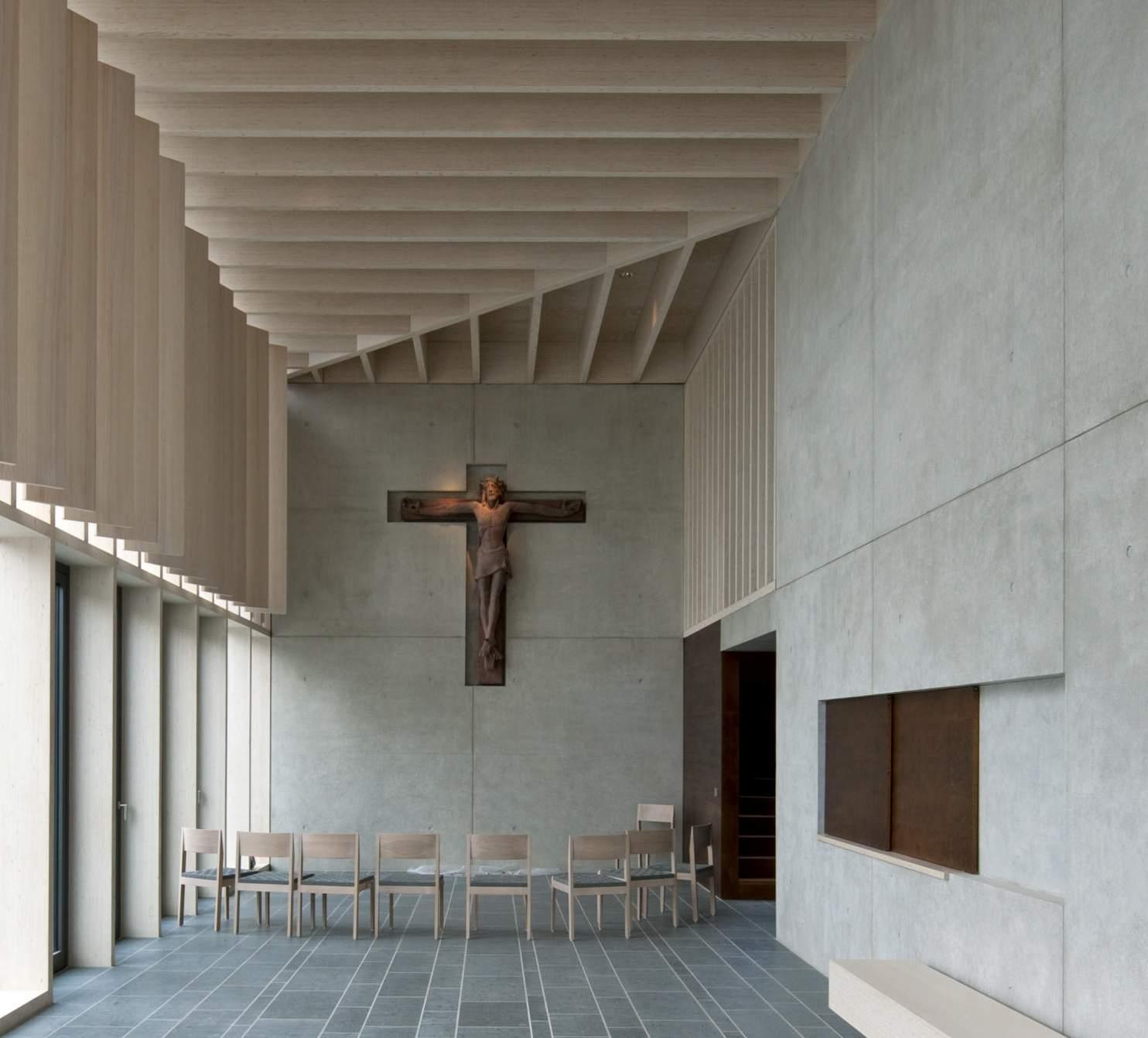 Herzogenaurach | Evangelische Kirche | Foyer | Foto: © HeidelbergCement AG/Steffen Fuchs