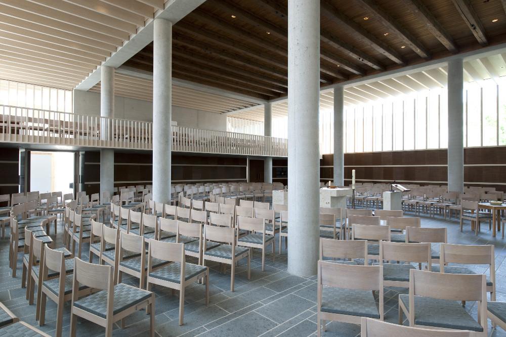 Herzogenaurach | Evangelische Kirche | Innenraum | Foto: © HeidelbergCement AG/Steffen Fuchs