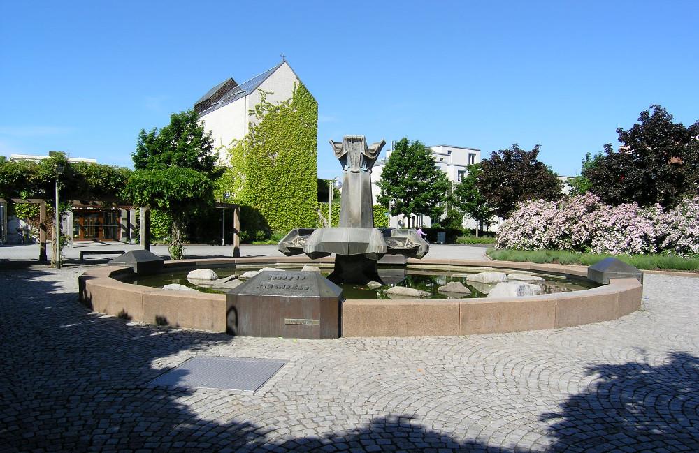 Karlsruhe | St. Judas Thaddäus | Außenbau | Foto: Michael Kauffmann, Karlsruhe, CC BY SA 3.0