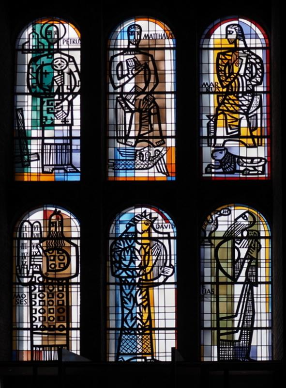 Karlsruhe | St. Konrad | Glasgestaltung | Foto: PBe, CC BY NC SA 3.0 DE