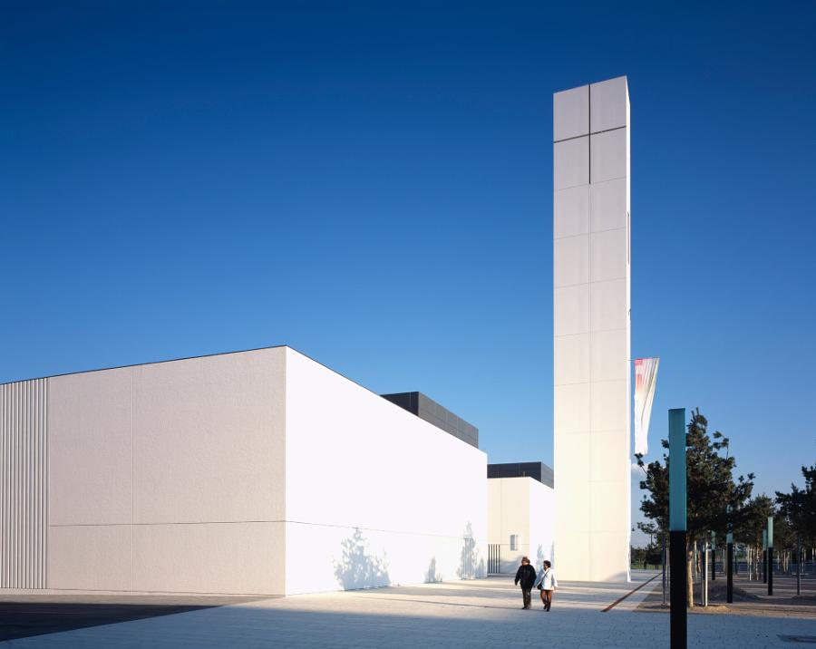 München | Kirchenzentrum | Außenbau | Foto: Stefan Müller-Naumann