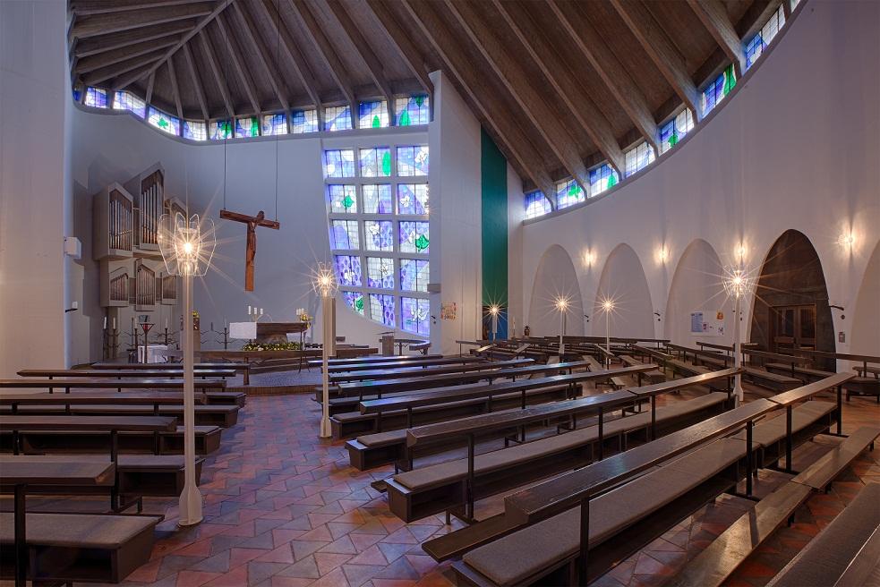 Wesel | Zu den Heiligen Engeln | Innenraum | Foto: Rainer Döller