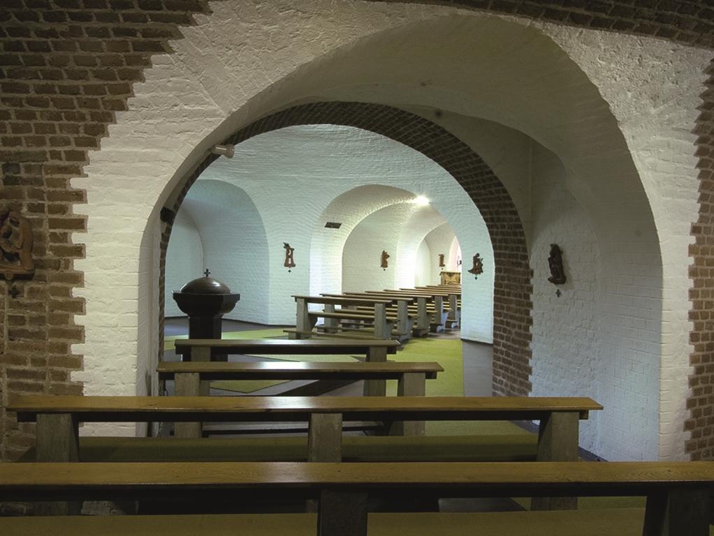 Wesel | Zu den Heiligen Engeln | Taufkapelle | Foto: Rainer Döller