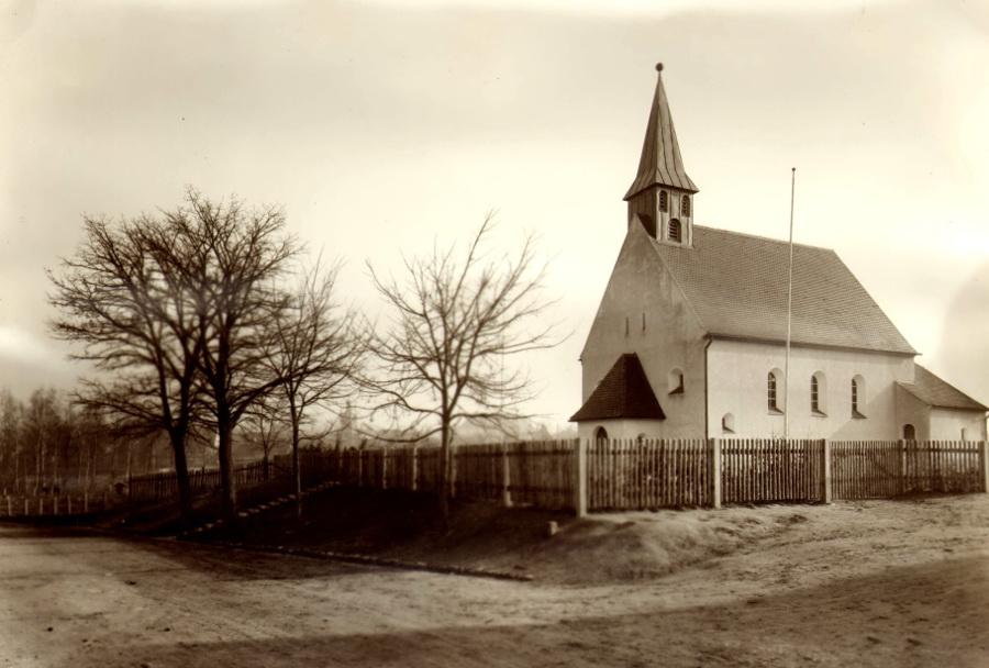Herzogenaurach | Evangelische Kirche | Ursprungsbau nach 1934 | Foto: Ev. Pfarrarchiv Herzogenaurach