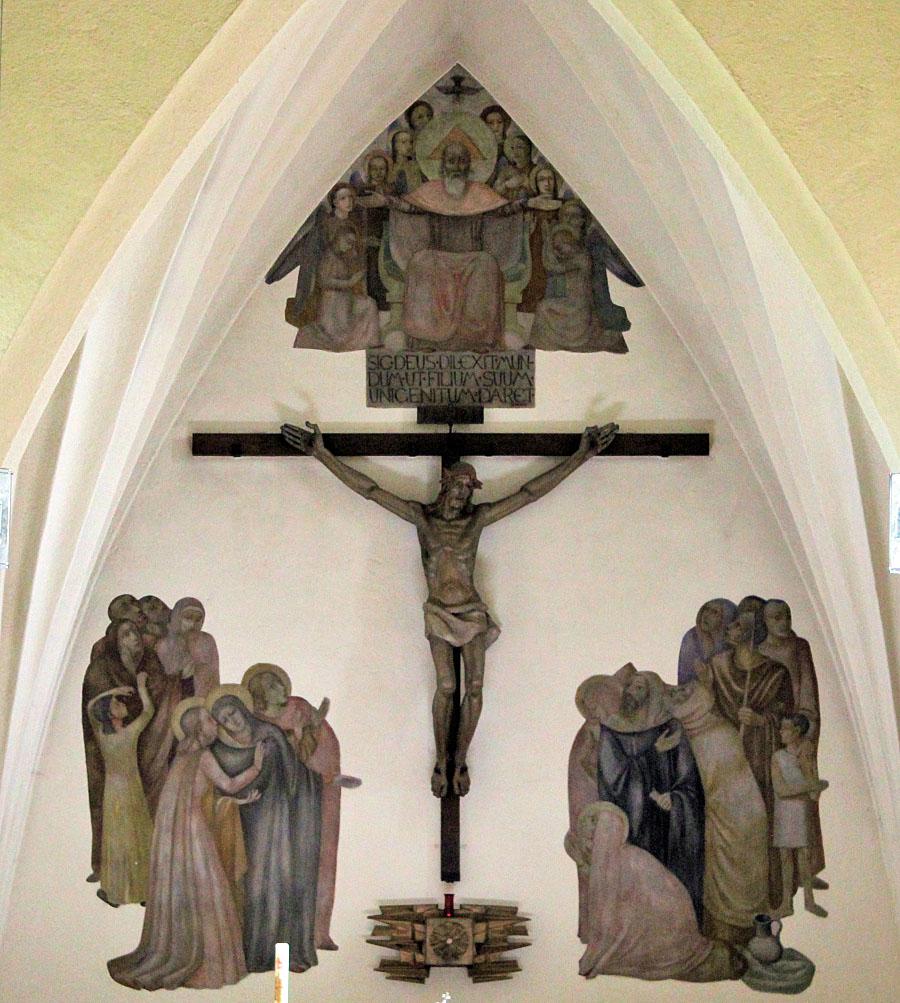 Passau | St. Josefs | Altarwand | Foto: Nicolas Kusser