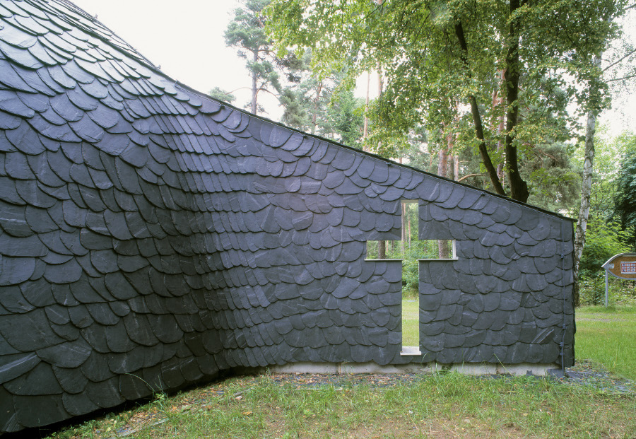 Storkow-Hubertushöhe | St. Maria | Außenbau | Foto: Ratscheck Schiefer
