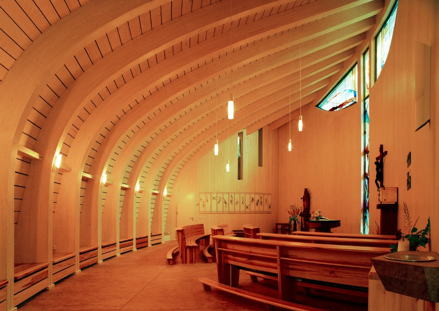 Storkow-Hubertushöhe | St. Maria | Innenraum | Foto: Rathscheck Schiefer