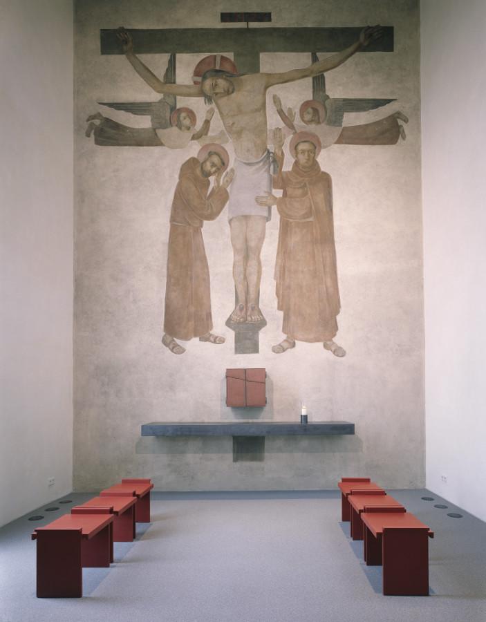 Stuttgart-Kaltental | St. Antonius | Tabernakelkapelle | Architekten: Pfeifer Roser Kuhn, Freiburg, Fotograf: Ruedi Walti, CH-Basel