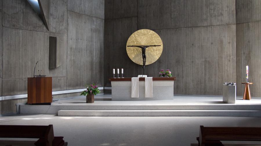 Mannheim | Versöhnungskirche | Innenraum | Foto: Ev. Versöhnungsgemeinde, Mannheim