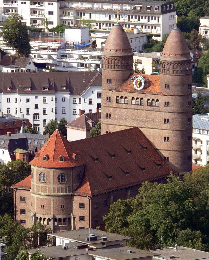 Ulm | Pauluskirche | Außenbau | Foto: G8w, GFDL oder CC BY SA 3.0