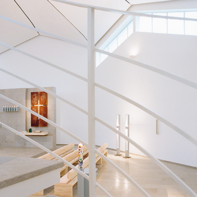 Hattingen-Winz-Baak | Evangelische Kirche | Innenraum | Foto: Urheberrecht Roman Weis
