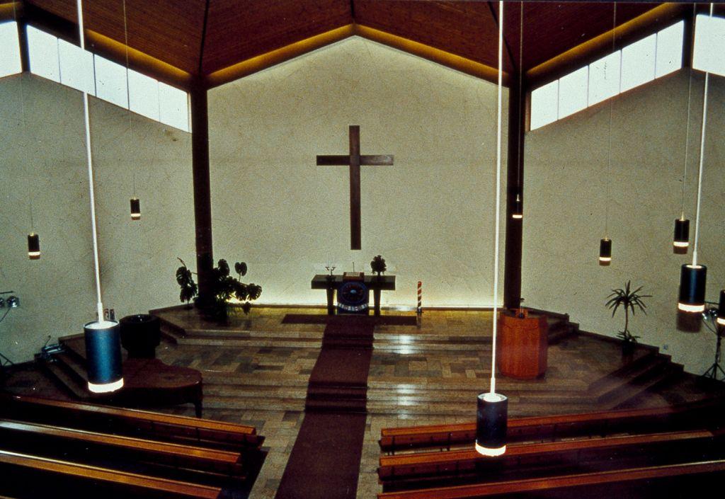 Hattingen-Winz-Baak | Evangelische Kirche | Innenraum vor dem Umbau | Foto: soan architekten