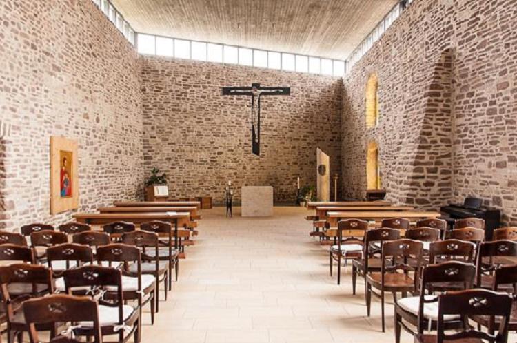 Lutherstadt Eisleben | Kloster Helfta | Gertrudkapelle | Innenraum | Foto: Kloster Helfta
