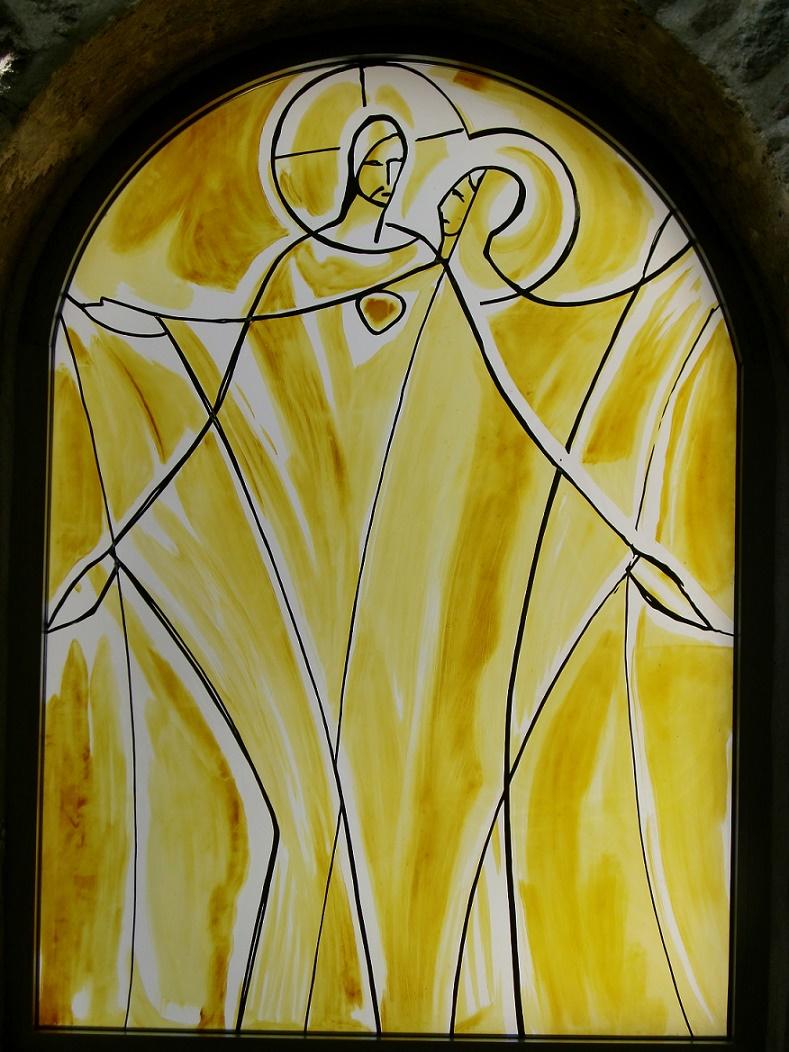 Lutherstadt Eisleben | Kloster Helfta | Gertrudkapelle | Glasgestaltung | Foto: Kloster Helfta