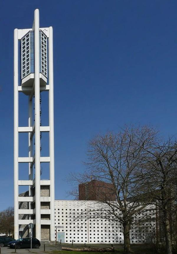Hannover | Bugenhagenkirche | Außenbau | Foto: AxelHH, PD