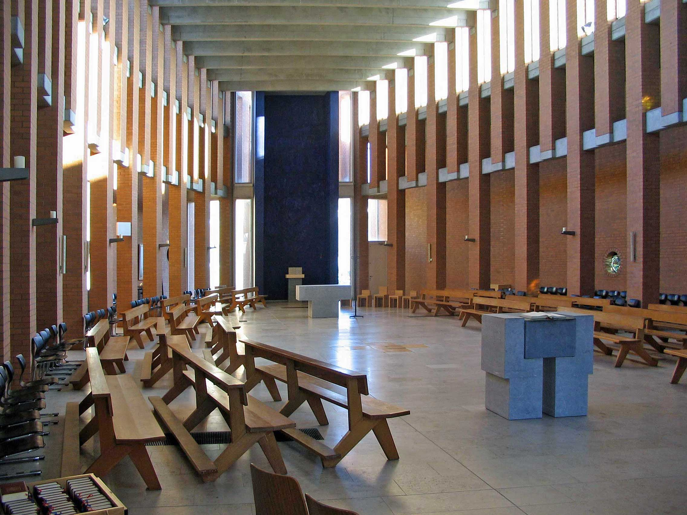 Westerland/Sylt | St. Christophorus | Innenraum | Foto: Brühl, PD