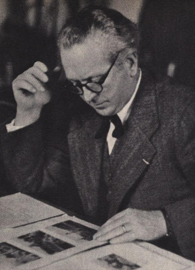 Clemens Holzmeister | Foto: Otto Skall, 1937, gemeinfrei, via wikimedia commons