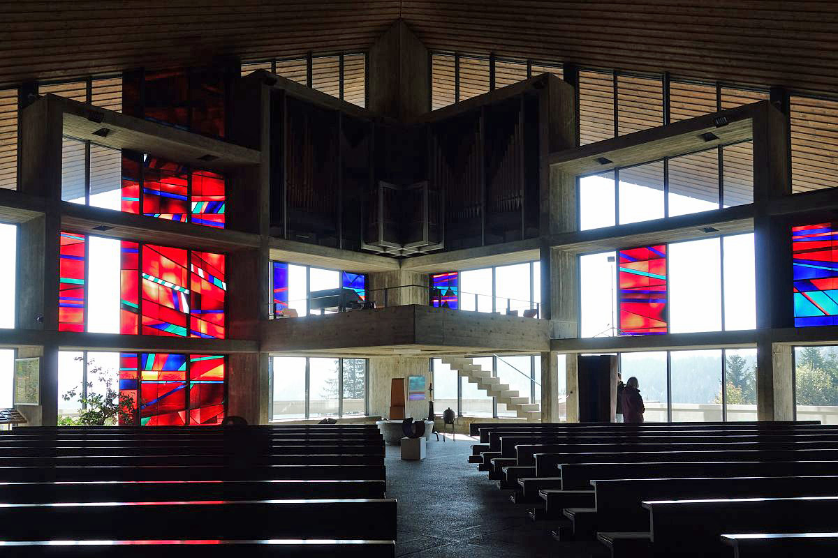 Feldberg | Verklärung Christi | Orgelempore | Foto: Helmut Wiedemann