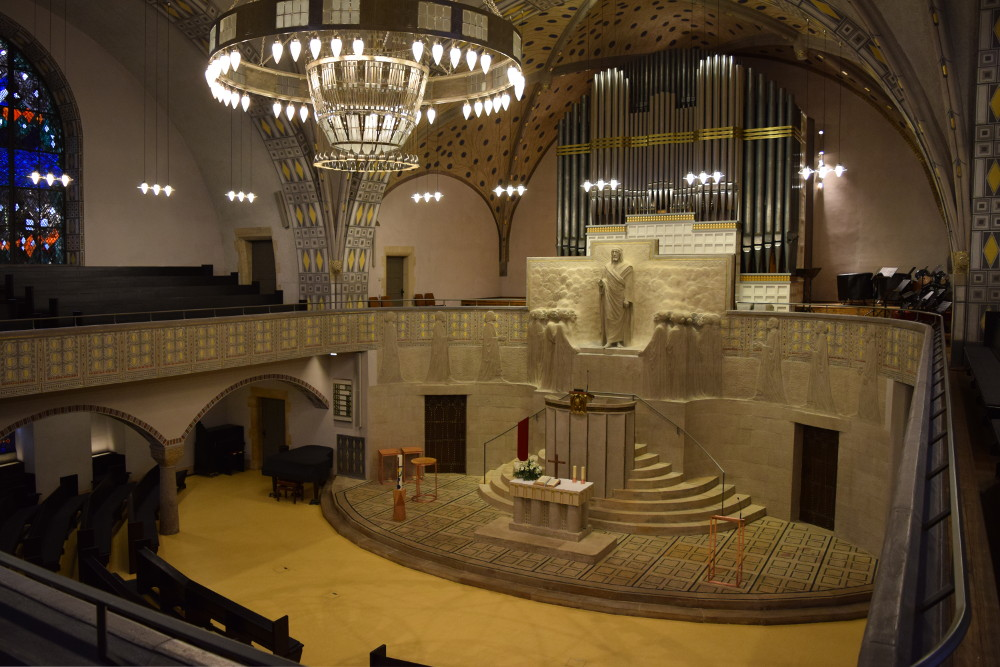 Karlsruhe | Lutherkirche | Innenraum | Foto: Luthergemeinde Karlsruhe/Irene Burger