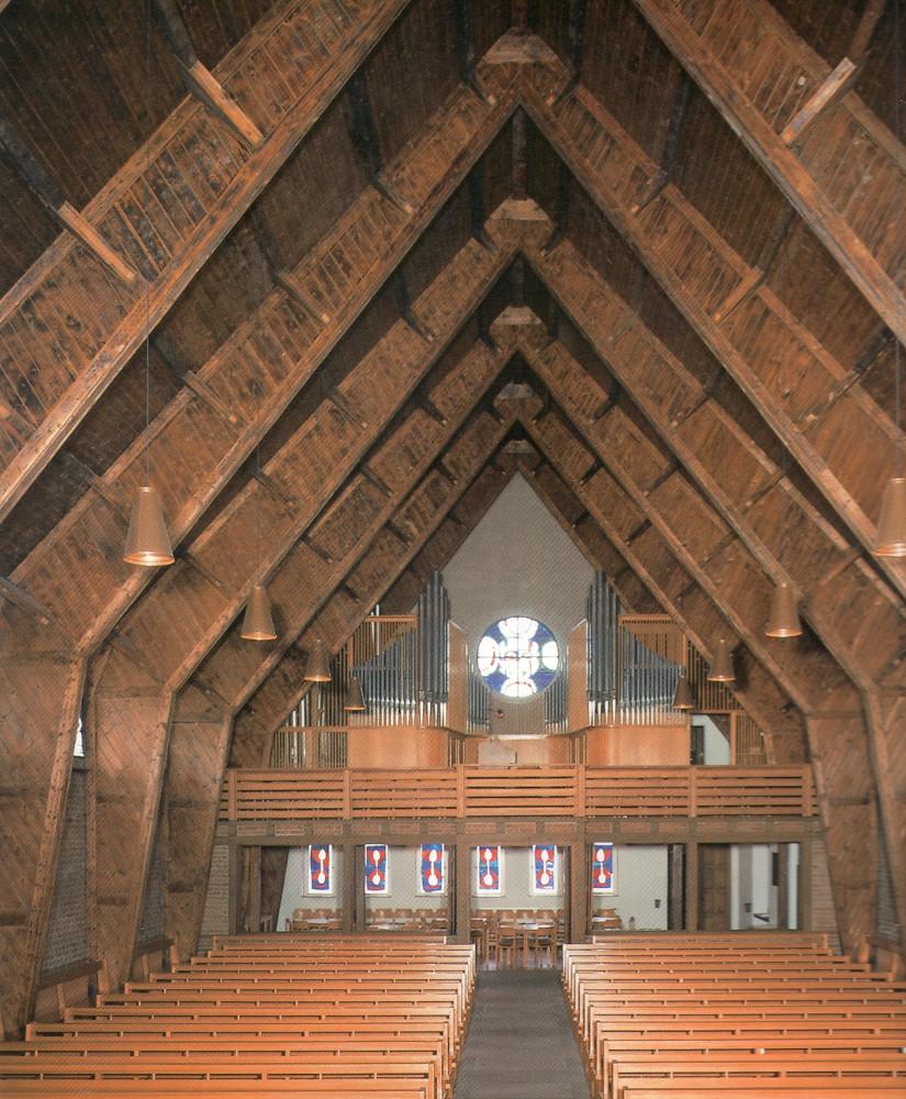 Pforzheim | Auferstehungskirche | Orgelempore | Foto: Ev. Johannesgemeinde Pforzheim/Günter Beck