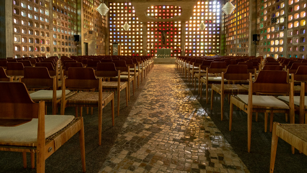 Pforzheim | Matthäuskirche | Innenraum | Foto: Harald Spies, Pforzheim
