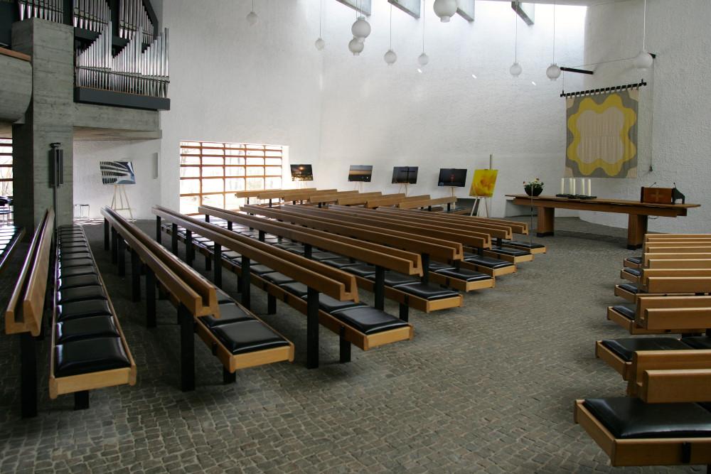 Stuttgart-Sonnenberg | Evangelisches Gemeindezentrum | Innenraum | Foto: Evangelische Kirchengemeinde Stuttgart-Sonnenberg