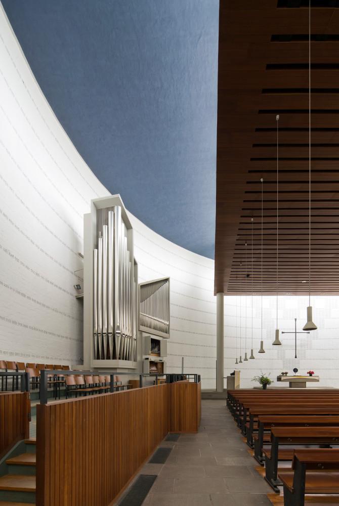 Hannover | Bugenhagenkirche | Orgel | Foto: Florian Monheim/Bildarchiv Monheim GmbH