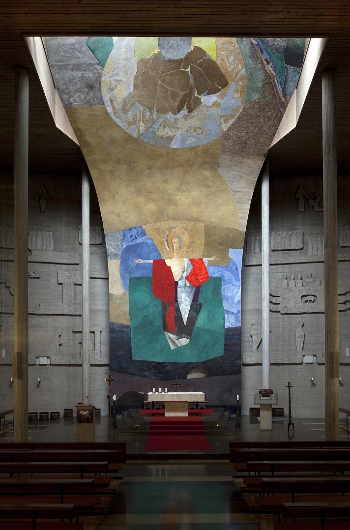 Pirk | Auferstehung Christi | Innenraum | Foto: © Bildarchiv Foto Marburg/Uwe Gaasch