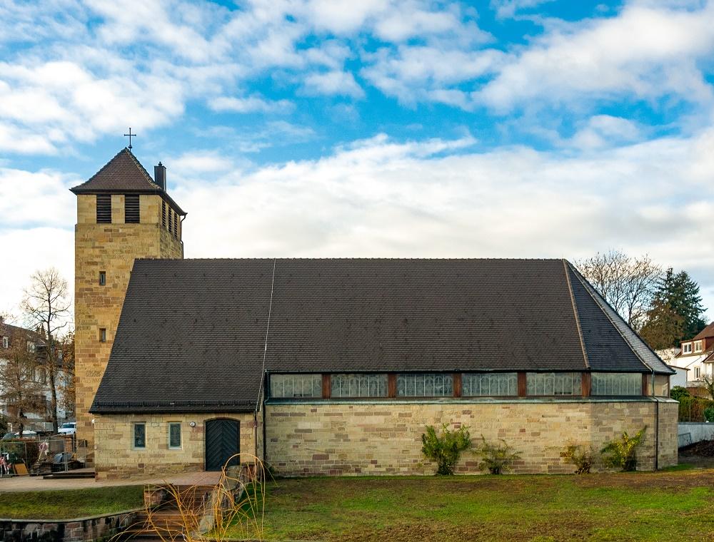 Pforzheim | Auferstehungskirche | Außenbau | Foto: Harald Spies, Pforzheim