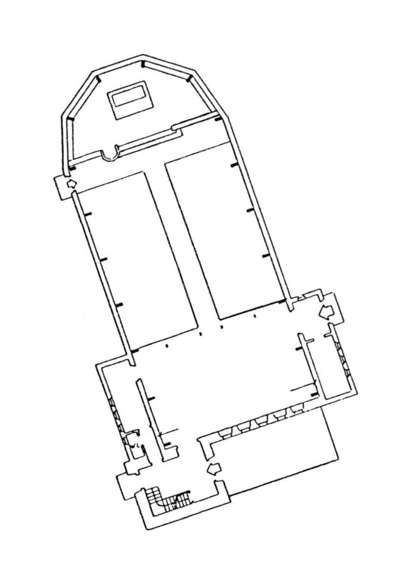 Pforzheim | Auferstehungskirche | Grundriss