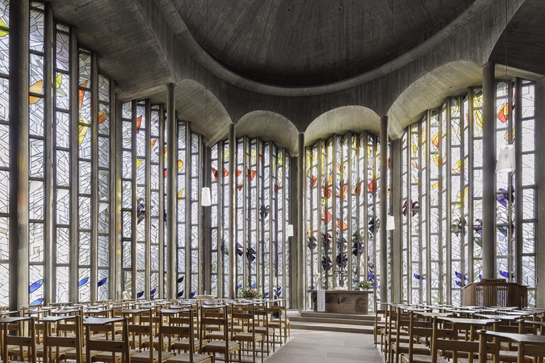 Freiburg | Ludwigskirche | Innenraum | Foto: ev. Kirchengemeinde Freiburg-Nord