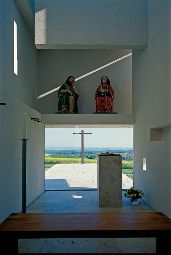 Immendingen | Kapelle St. Johannes und Jakobus | Innenraum | Foto: Wolf-Dieter Gericke, Waiblingen