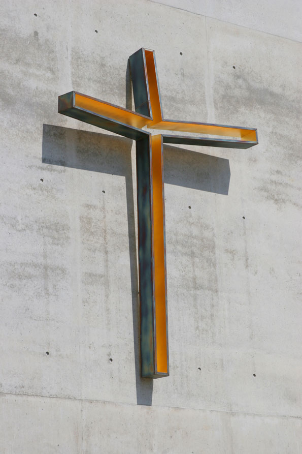 Freiburg | Maria Magdalena Kirche | Kreuz | Foto: Kirchengemeinde Freiburg-Südwest/ Hoppe