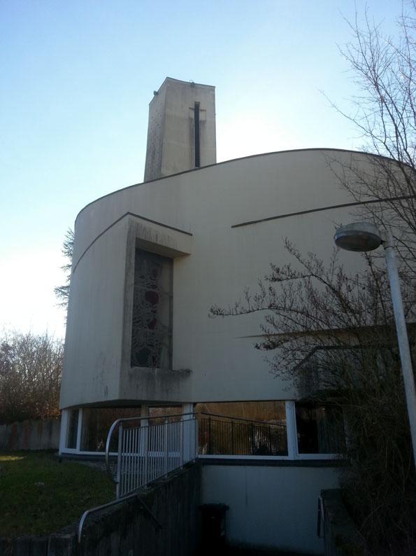 Neunkirchen-Hangard | ev. Kirche  | Außenbau | Foto: Beate Kolodziej
