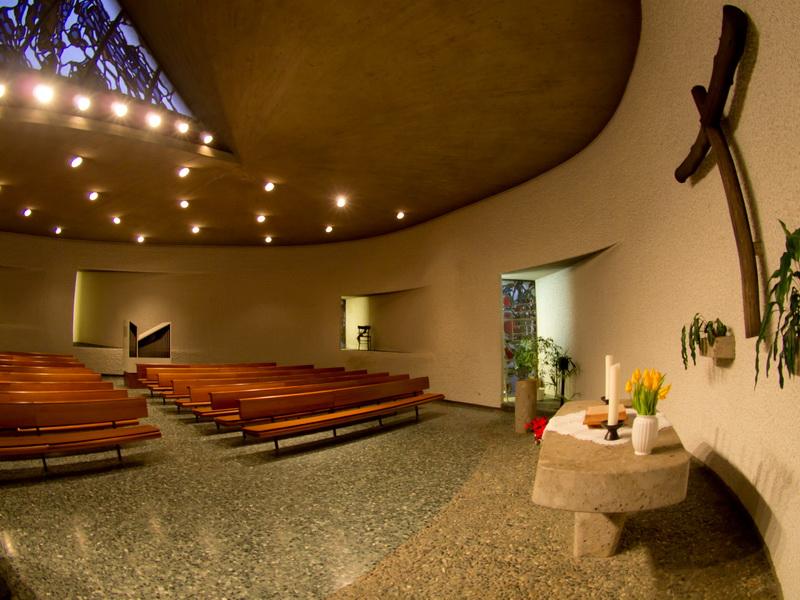 Neunkirchen-Hangard | ev. Kirche  | Innenraum | Foto: Erich Nehren