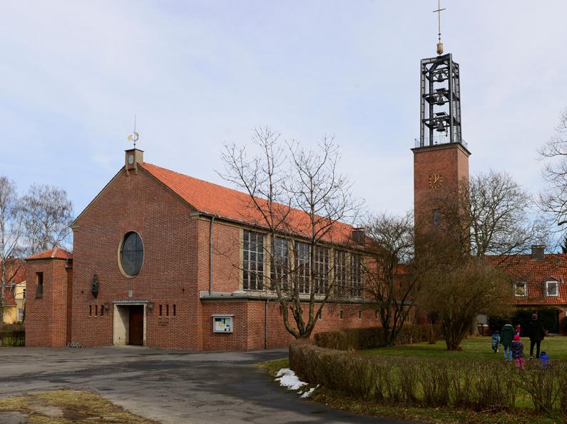 Friedland | St. Norbert | Außenbau | Foto: Peter Heller