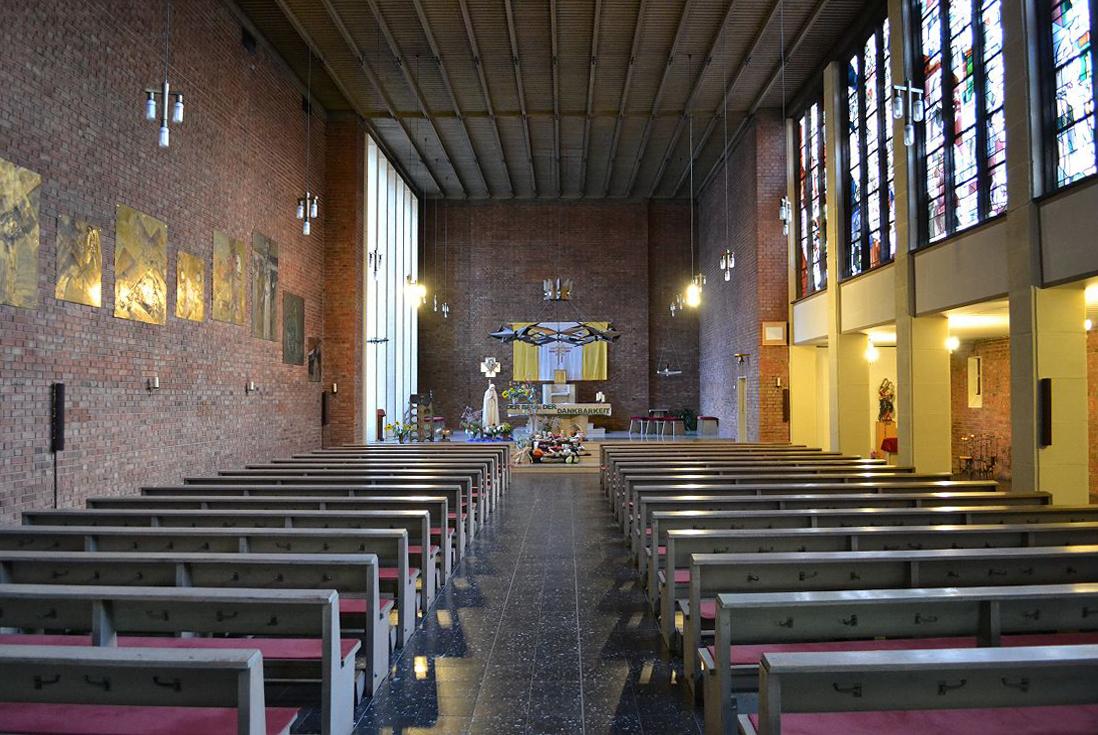 Friedland | St. Norbert | Innenraum | Foto: Rüdiger Maas