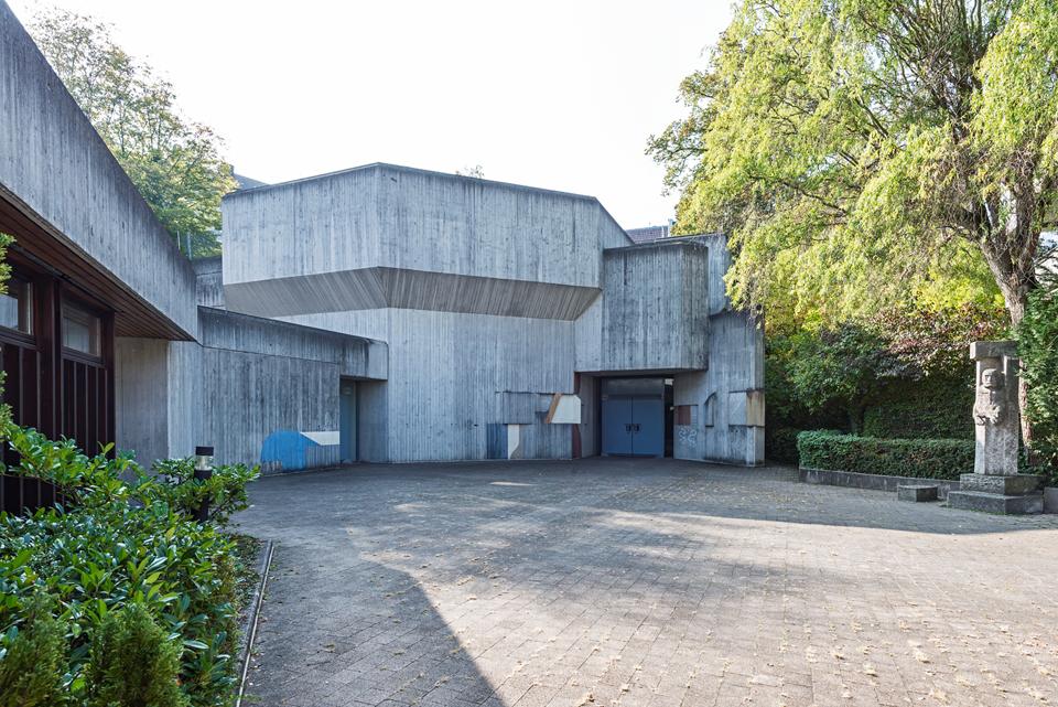 Stuttgart | St. Josef | Außenbau | Foto: Iris Geiger-Messner/ Landesamt für Denkmalpflege im Regierungspräsidium Stuttgart