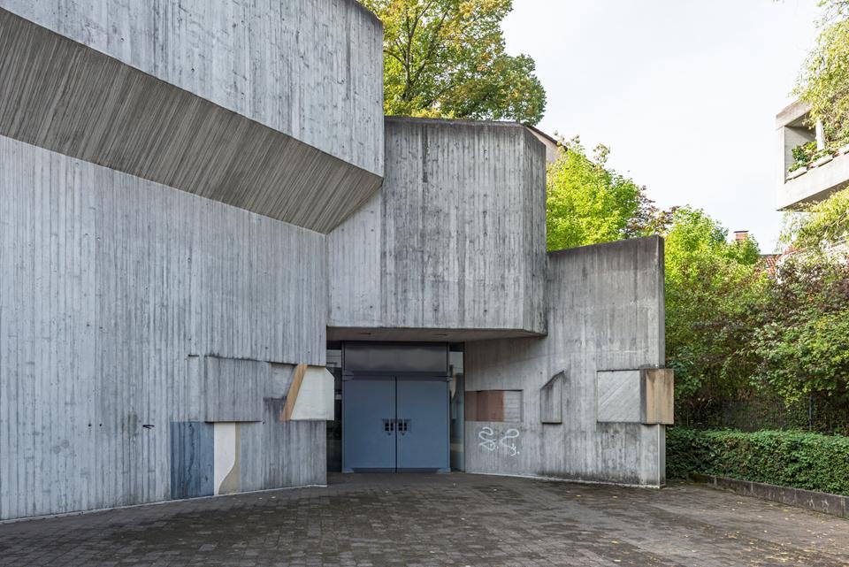 Stuttgart | St. Josef | Außen | Foto: Iris Geiger-Messner/ Landesamt für Denkmalpflege im Regierungspräsidium Stuttgart