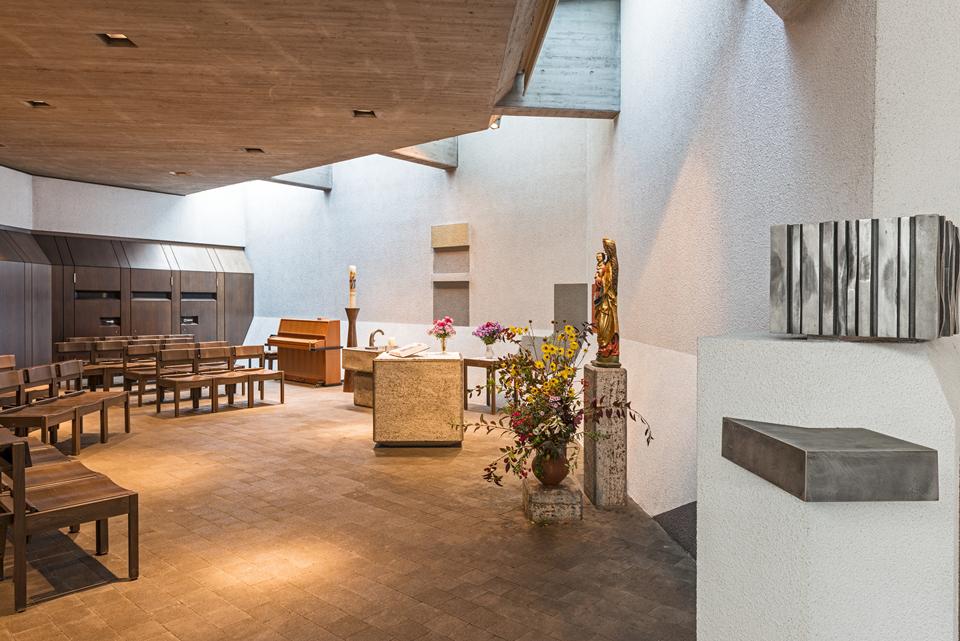 Stuttgart | St. Josef | Werktagskirche | Foto: Iris Geiger-Messner/ Landesamt für Denkmalpflege im Regierungspräsidium Stuttgart