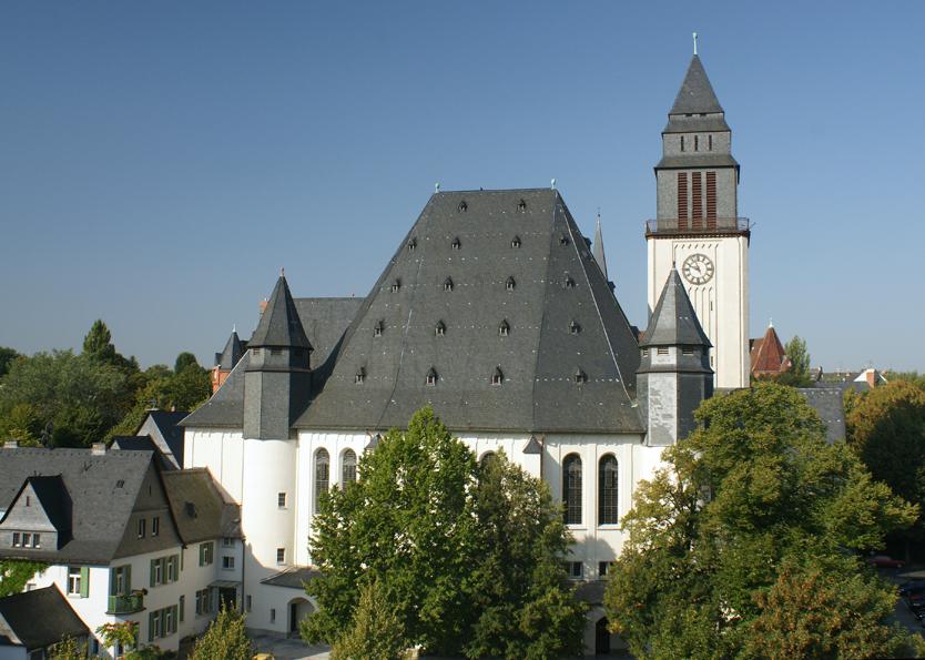 Wiesbaden | Ev. Lutherkirche | Außenbau | Foto: ev. Lutherkirchengemeinde Wiesbaden