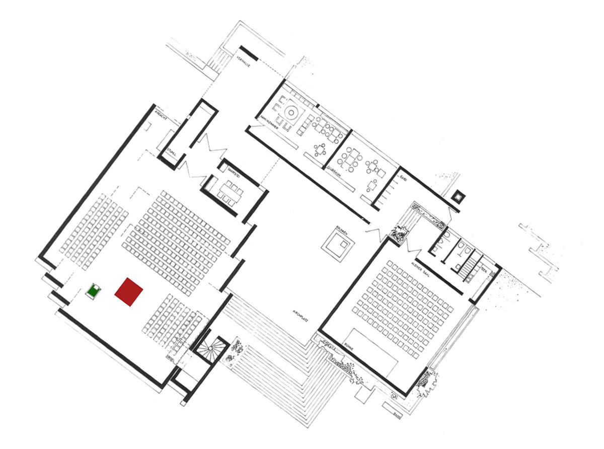 Leonberg I ev. Versöhnungskirche | Grundriss