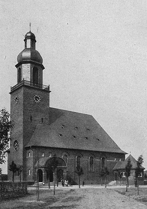Düsseldorf-Benrath | Ev. Dankeskirche | 1914-1915 | Friedrich Pützer