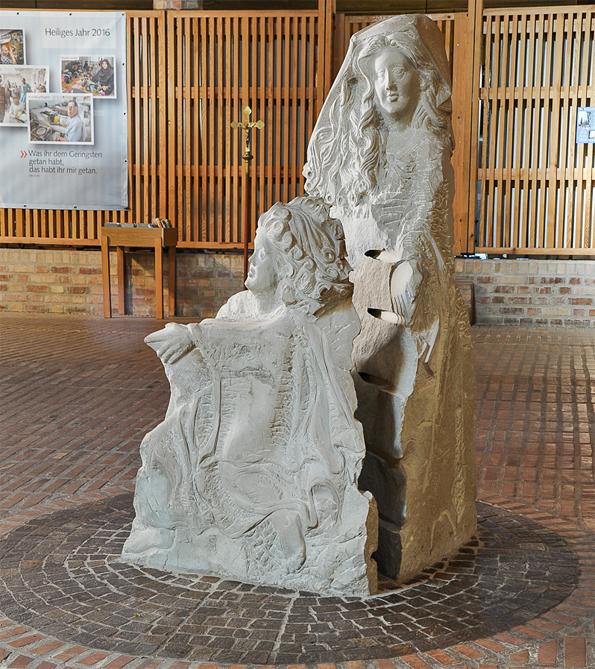 Waldweiler | St. Willibrord | Skulptur: Werner Huppertz | Foto: Rita Heyen